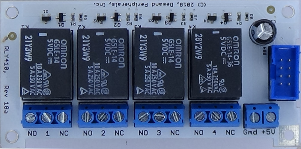 Demand Peripherals Inc - Spdt relay diode